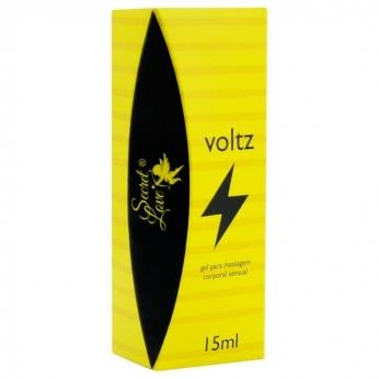 Voltz Gel Excitante Eletrizante 15Ml Segred Love sex shop no atacado