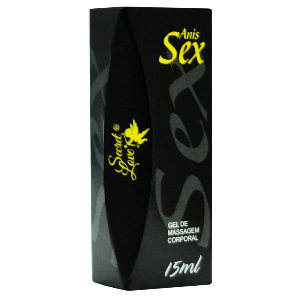 Anis Sex Gel Facilitador Anal 15Ml Segred Love produtos de sexshop atacado  - Fribasex - Fabricasex.com
