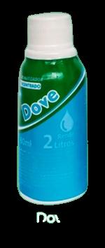 Aromatizador Concentrado 60ml Dove Ramas Fragrancias  - Fribasex - Fabricasex.com