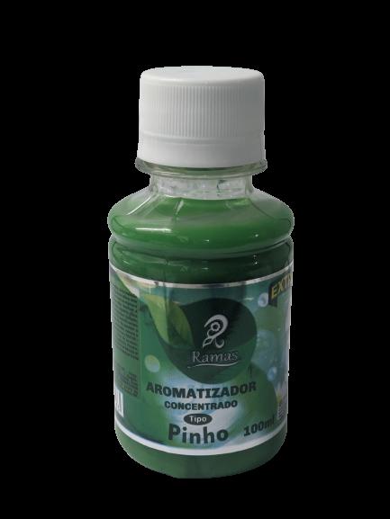 Aromatizante Concentrado Pinho Rende 5L Extra Forte 100ML  - Fribasex - Fabricasex.com