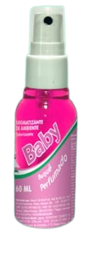 Aromatizante de Ambiente Baby Buque Perfumado 60 ML  - Fribasex - Fabricasex.com