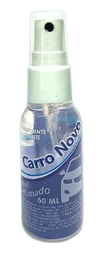 Aromatizante de Ambiente Carro Novo Buque perfumado 60 ML  - Fribasex - Fabricasex.com