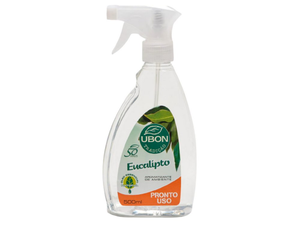 Aromatizante de ambiente Pronto Uso Eucalipto 500ml  - Fribasex - Fabricasex.com
