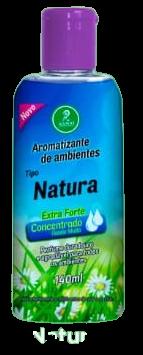 Aromatizantes de ambientes Tipo Natura Extra Forte Concentrado Rende Muito 140ML  - Fribasex - Fabricasex.com
