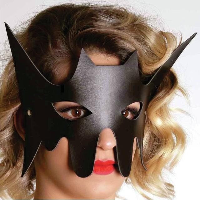 BDSM Produtos Eroticos Sexshop Máscara Morcego   - Fribasex - Fabricasex.com