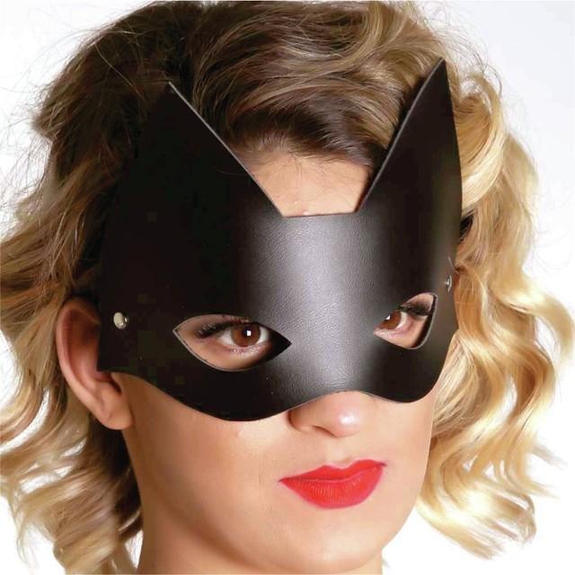 BDSM Produtos Eroticos Sexshop Máscara Mulher Gato   - Fribasex - Fabricasex.com