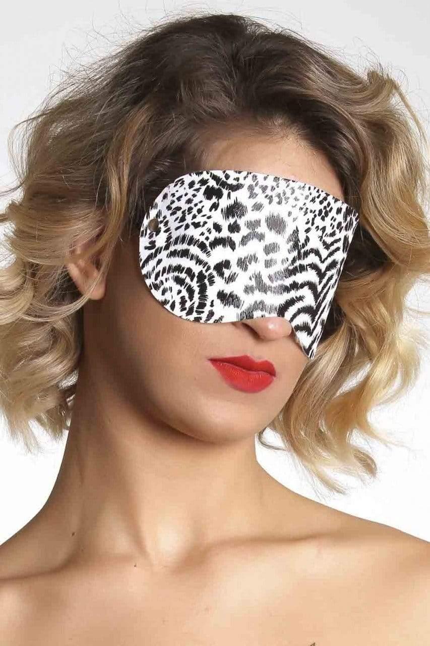 BDSM Produtos Eroticos Sexshop Tapa olho courvin  - Fribasex - Fabricasex.com