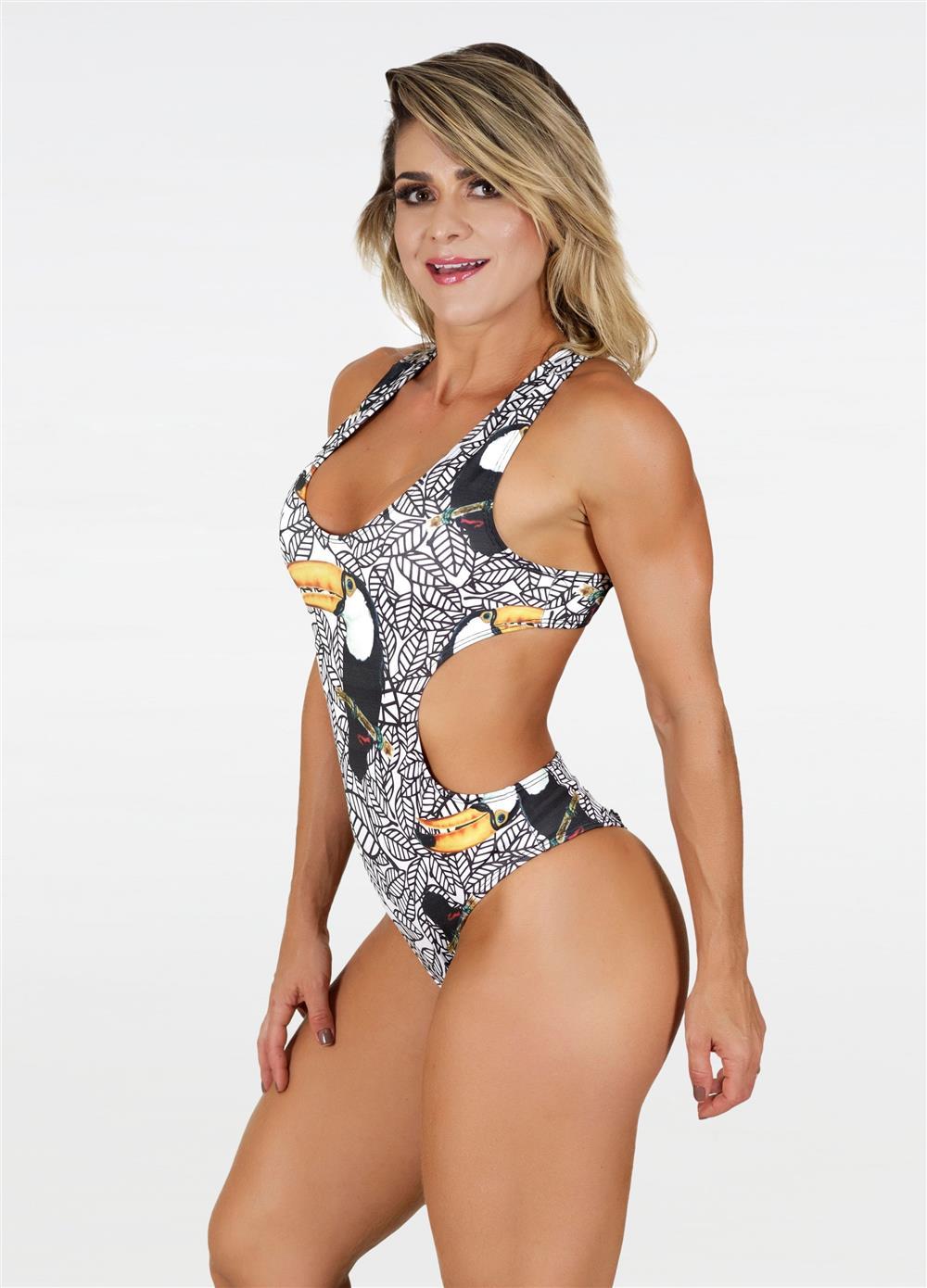 Body Jenifer Tucano Branco  - Fribasex - Fabricasex.com