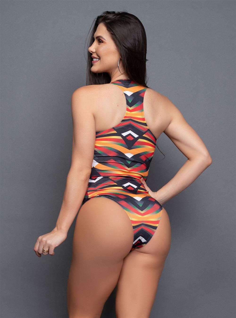 Body Nadador Urban Preto  - Fribasex - Fabricasex.com