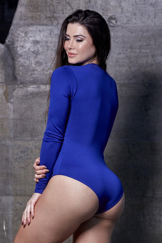 Body Trançado Azul  - Fribasex - Fabricasex.com