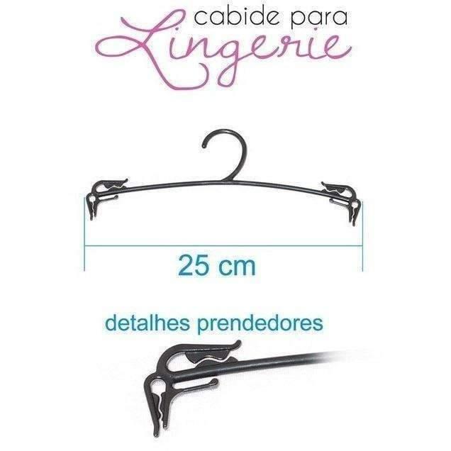 Cabide Para Lingerie - PCT c/ 50 un  - Fribasex - Fabricasex.com