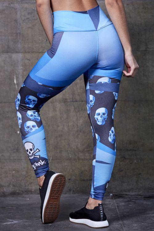 Calça Sublimada Blue Skull   - Fribasex - Fabricasex.com