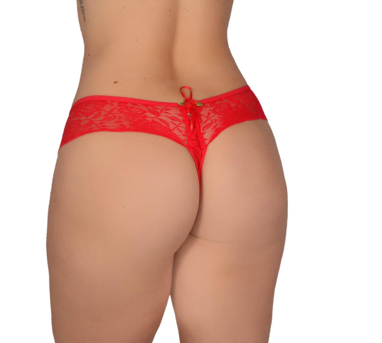 Calcinha SEXY Tanga Em Romantic e Renda Camila Lingerie no Atacado direto da fabrica  - Fribasex - Fabricasex.com