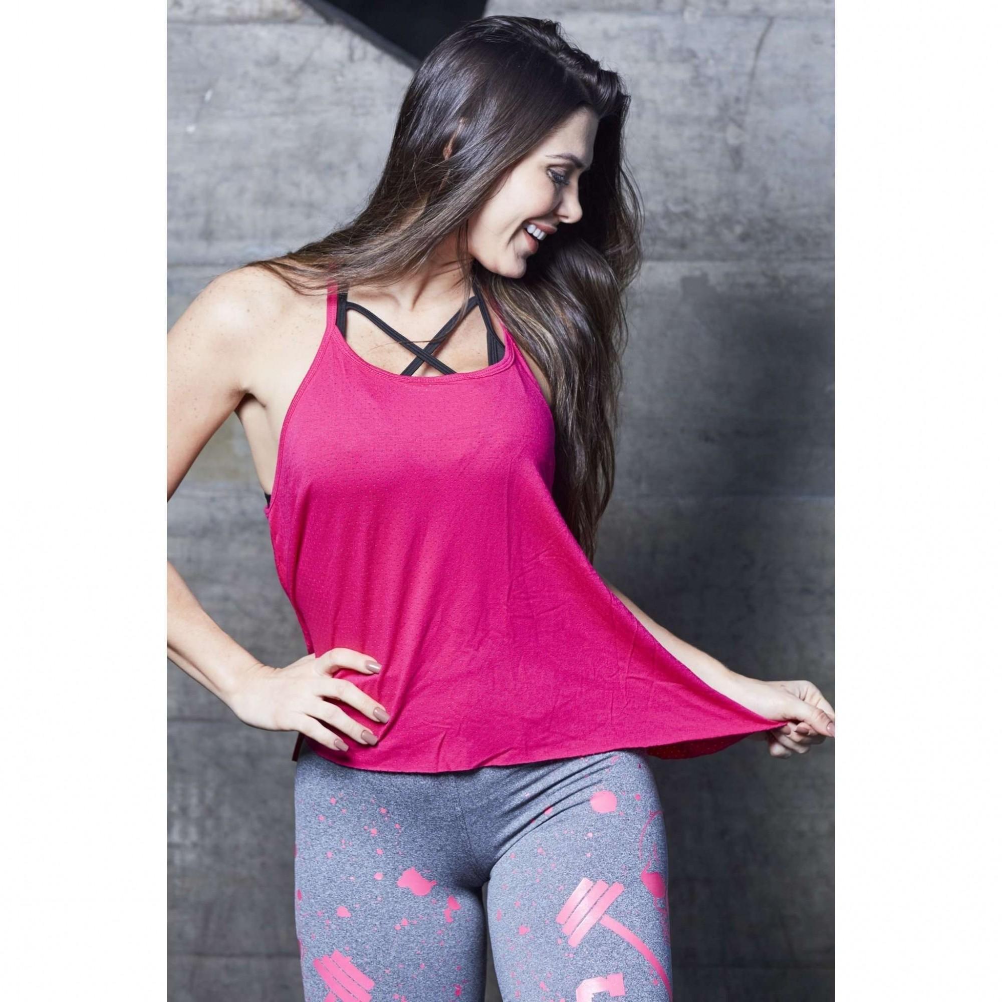 Camiseta Feminina Blusa Fitness Lia Lisa  - Fribasex - Fabricasex.com