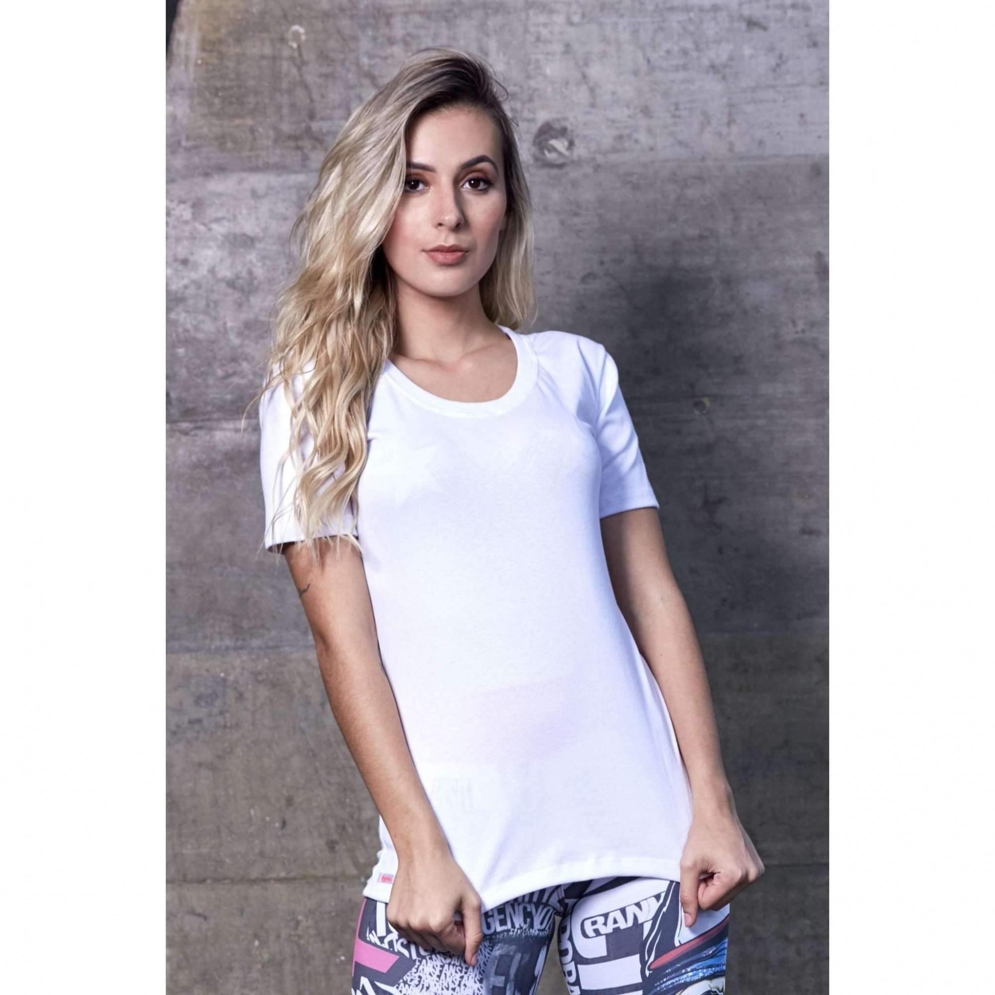 Camiseta Feminina Fitness Blusa Fitness Karla  - Fribasex - Fabricasex.com