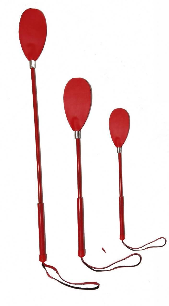 Chibata Oval Vermelha  - Fribasex - Fabricasex.com
