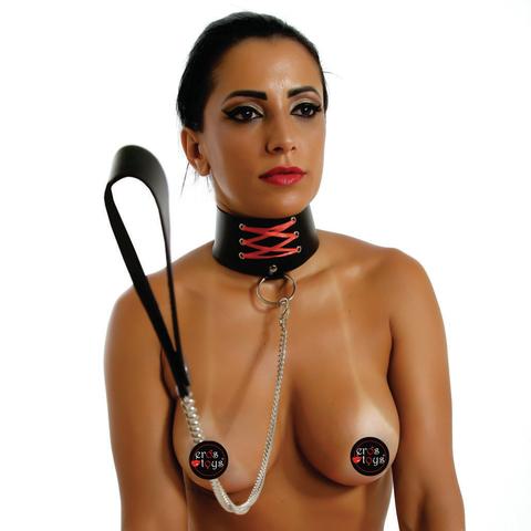 Coleira Cetim  - Fribasex - Fabricasex.com