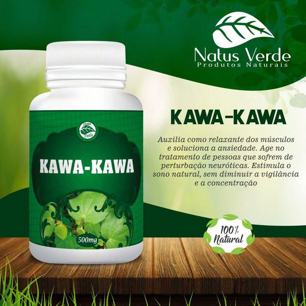 Composto Alimentício Kawa-Kawa Natus Verde   - Fribasex - Fabricasex.com