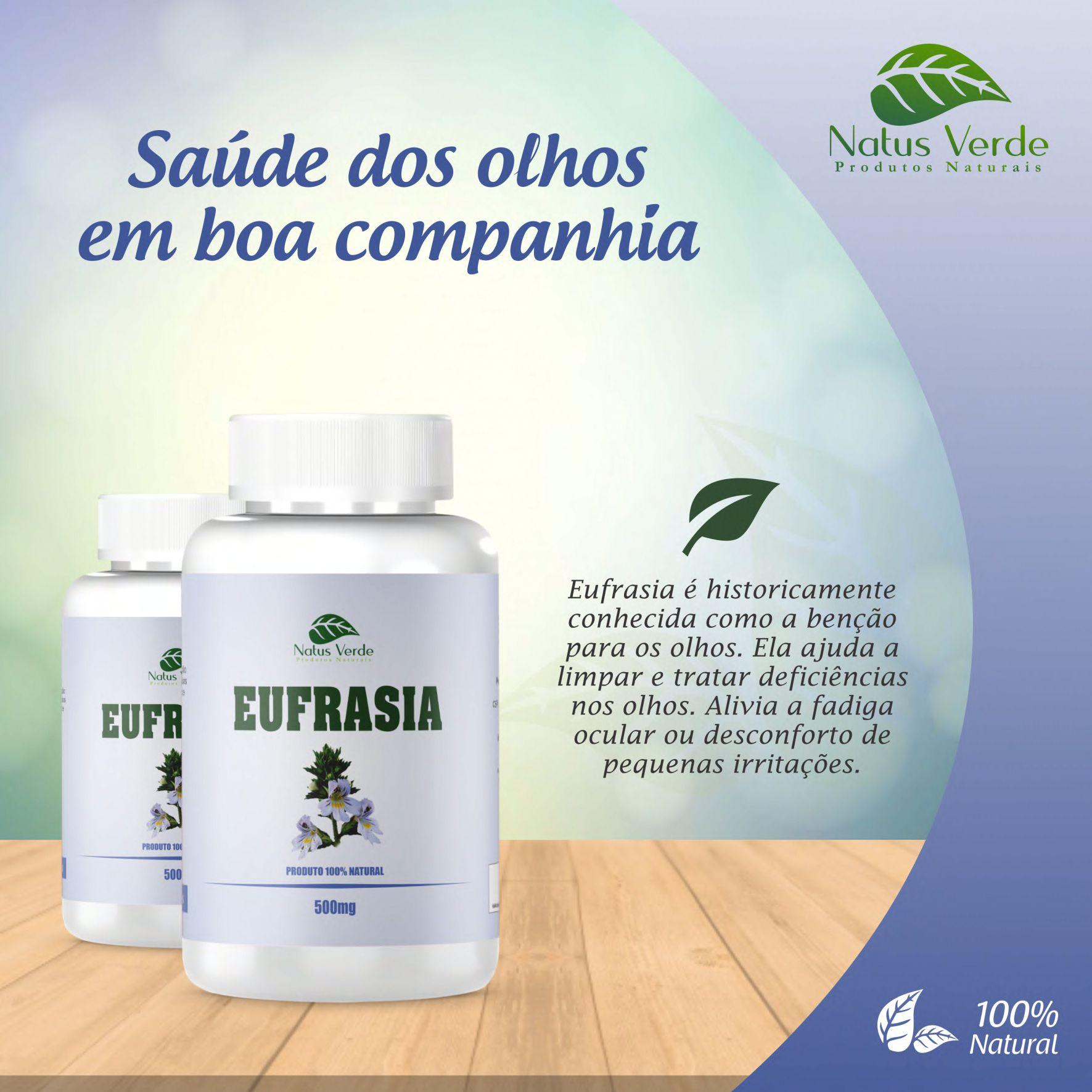 Composto Natural Eufrasia 60 Caps Natus Verde  - Fribasex - Fabricasex.com