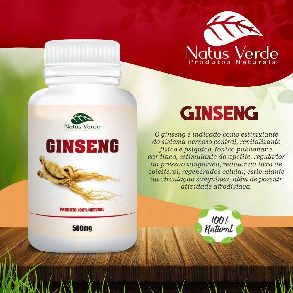 Composto Natural Gingseng Natus Verde  - Fribasex - Fabricasex.com