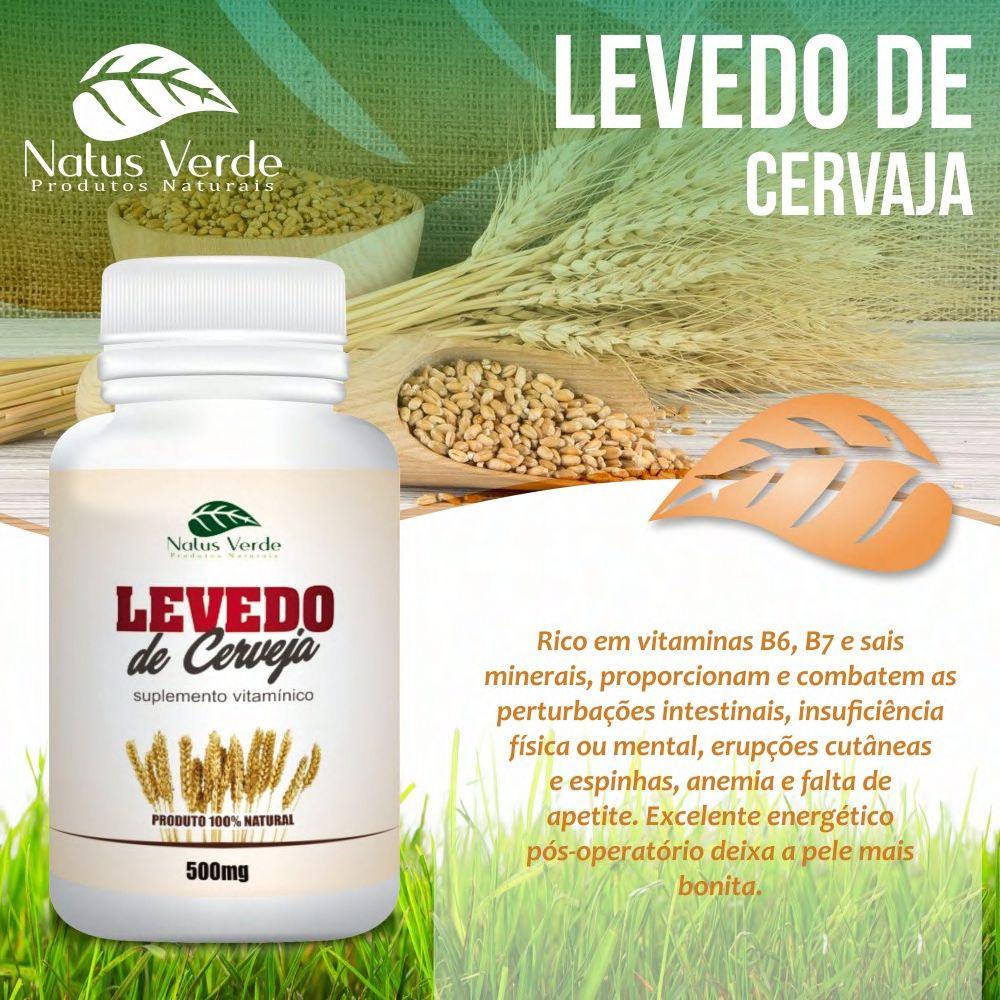 Composto Natural Levedo De Cerveja Natus Verde  - Fribasex - Fabricasex.com