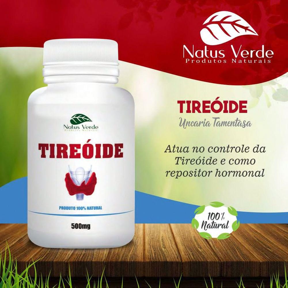 Composto Natural Regulador da TIREOIDE 60 Caps Natus Verdes  - Fribasex - Fabricasex.com