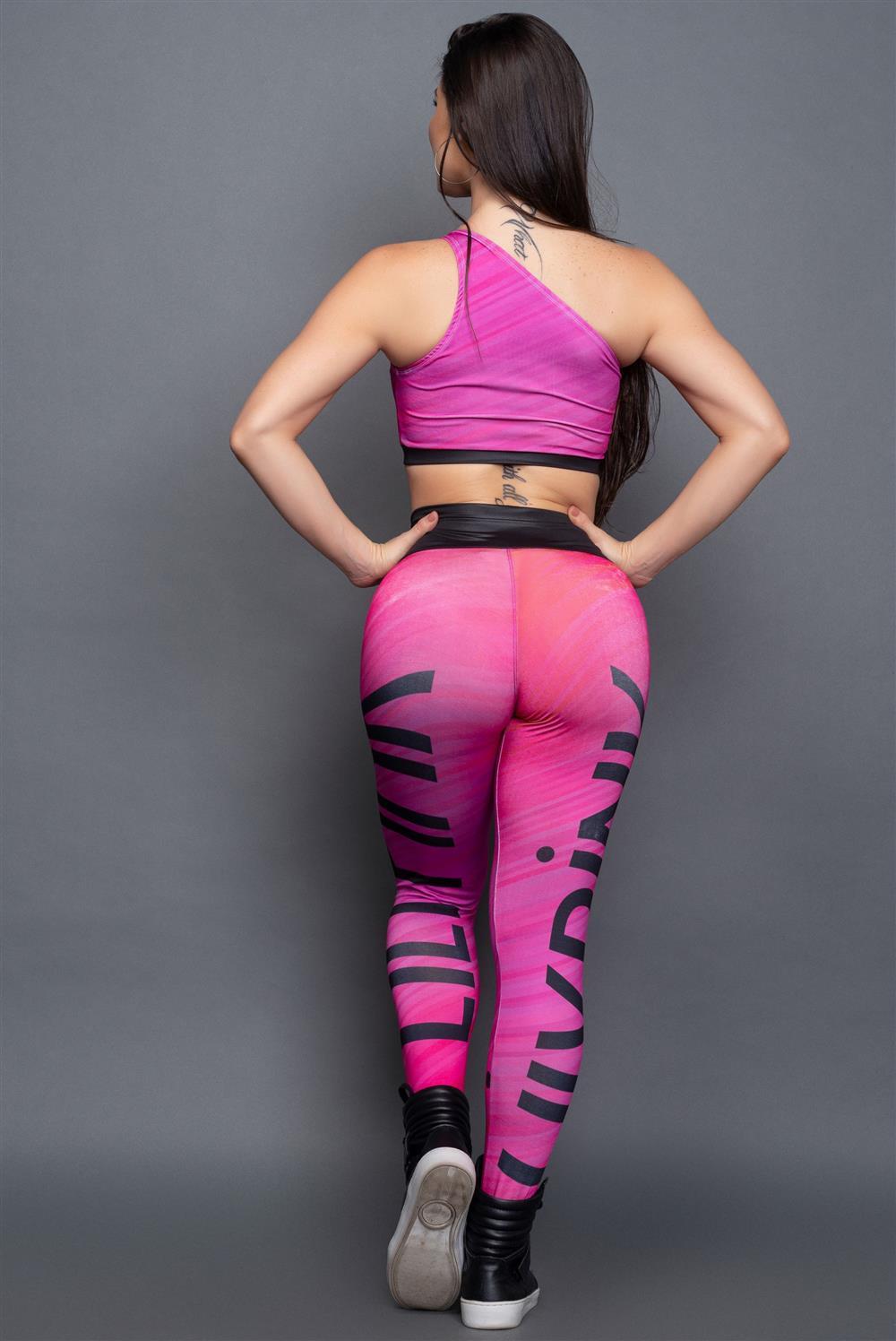 Conjunto Athletic Pink  - Fribasex - Fabricasex.com