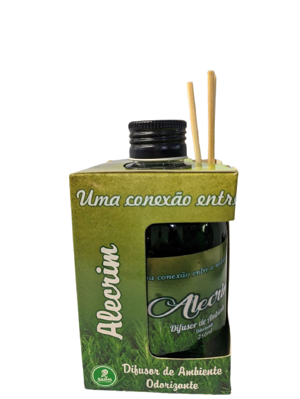 Difusor de Ambiente Odorizante Tipo Alecrim 250ml Ramas  - Fribasex - Fabricasex.com