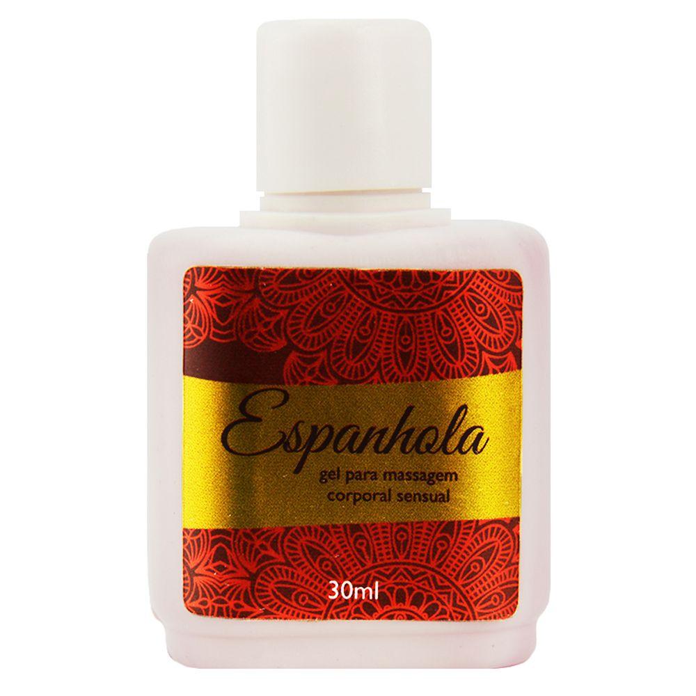 Espanhola Gel Comestível 30Ml Segred Love produtos eroticos de sex shop atacado  - Fribasex - Fabricasex.com