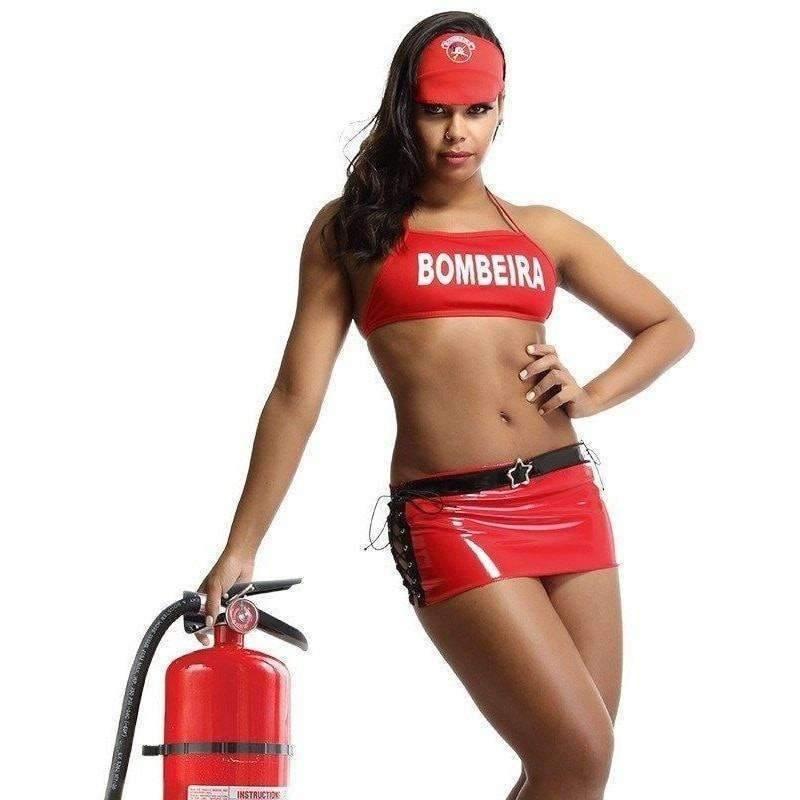 Fantasia Sexy Bombeira  - Fribasex - Fabricasex.com