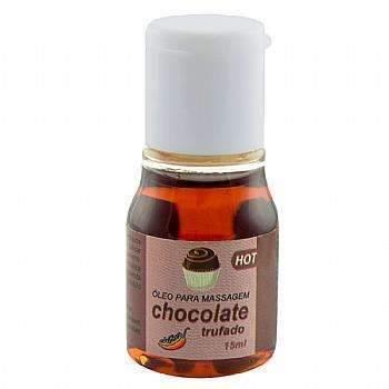 Gel Comestível Hot Chocolate Trufado 15ml Chillies  - Fribasex - Fabricasex.com