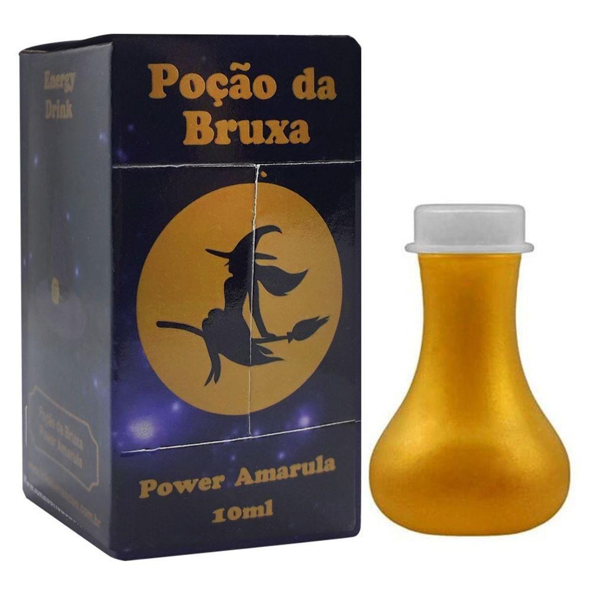 Gotas Energéticas Poção Da Bruxa Gota Mágica 8ml  Power Amarula   - Fribasex - Fabricasex.com