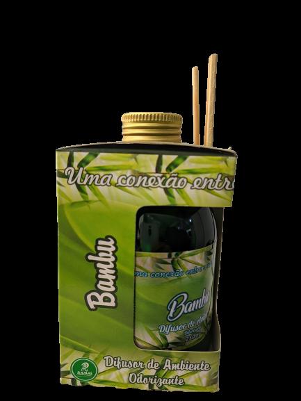 Kit com 3 DIfusores de Ambiente Odorizadores Alecrim,Bambu,Erva Doce 250ml   - Fribasex - Fabricasex.com
