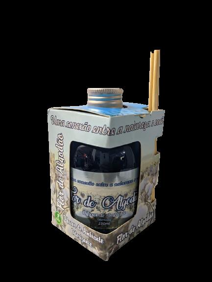 Kit com 3 DIfusores de Ambiente Odorizadores Tipo: Amor de Chocolate,Flor de Algodão,Sete Maravilhas 250ml  - Fribasex - Fabricasex.com