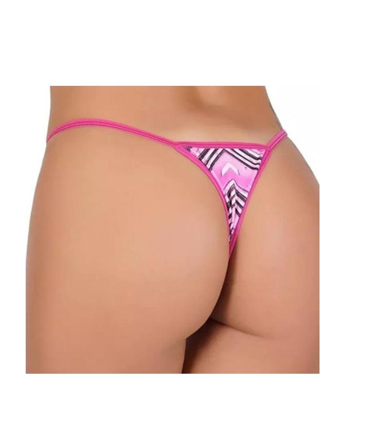 Kit erotico de Sexshop  5x1 Caipirinha com calcinha fio dental  cores variadas vem na caixinha  - Fribasex - Fabricasex.com