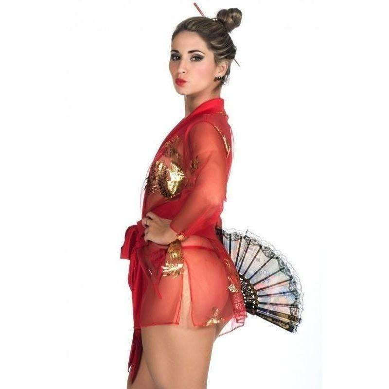 Lingerie Sex Fantasia Gueixa  - Fribasex - Fabricasex.com
