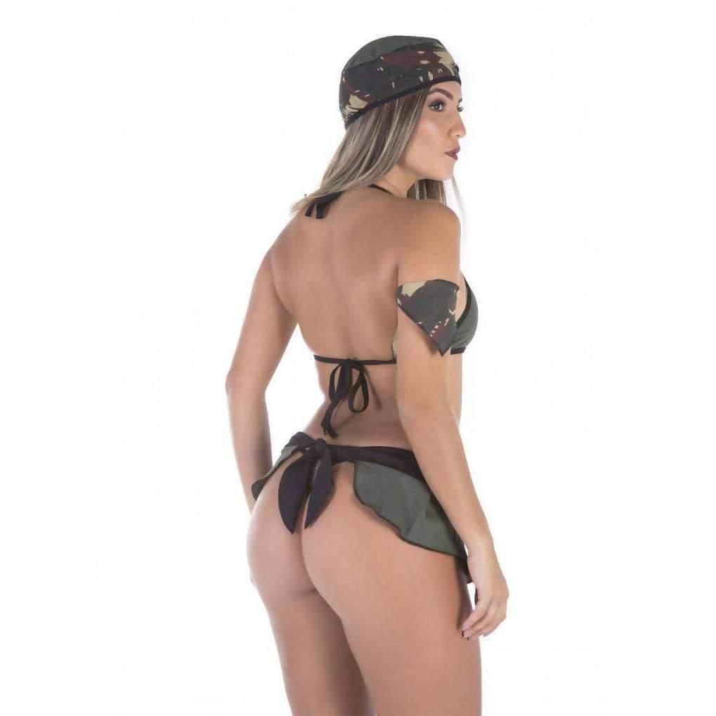 Lingeries Sexys  Fantasia Militar  - Fribasex - Fabricasex.com