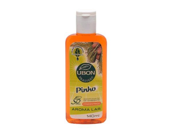 Odorizante de ambiente Aroma Lar Pinho 140ml  - Fribasex - Fabricasex.com