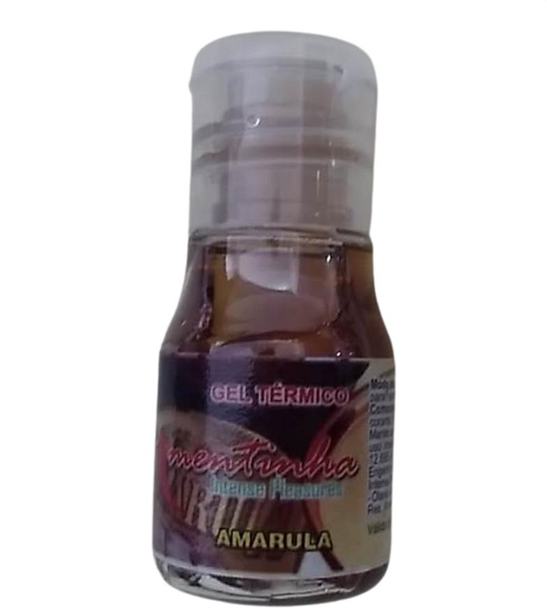 Oleo de Massagem comestivel Hot 10 Ml Amarula  - Fribasex - Fabricasex.com