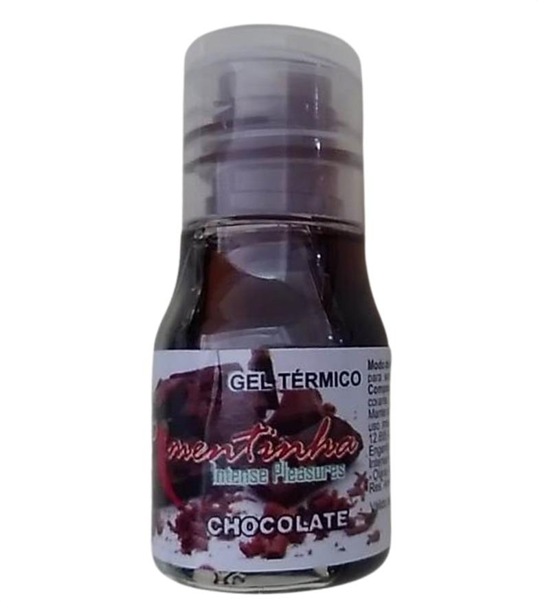 Oleo de Massagem comestivel Hot 10 Ml chocolate  - Fribasex - Fabricasex.com