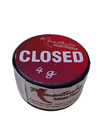 Pomada  Restringente Redutor Vaginal Closed 4 gr   - Fribasex - Fabricasex.com