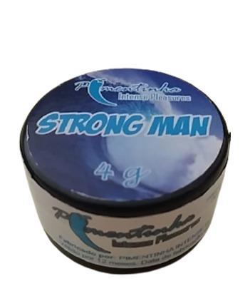 Pomada Retardante masculino Strong Men 4 gr   - Fribasex - Fabricasex.com