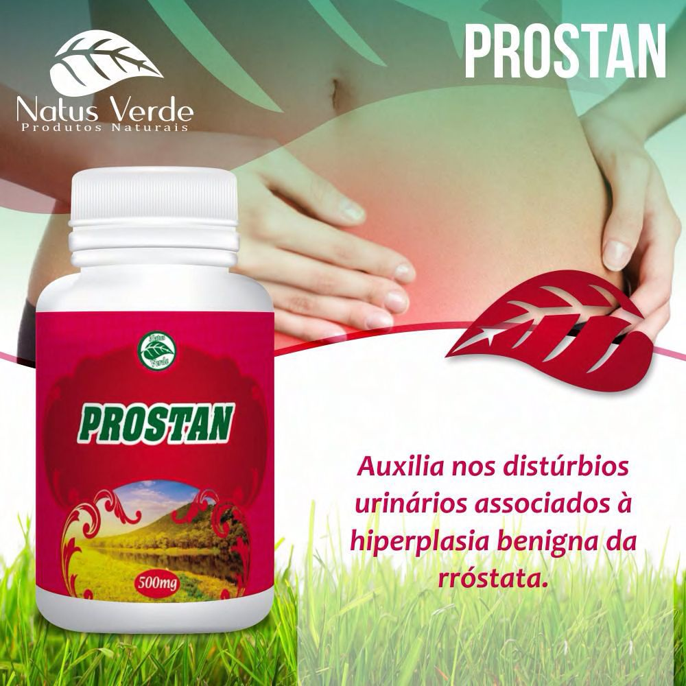Produto Natural Pronstan 60 Caps Natus Verde  - Fribasex - Fabricasex.com