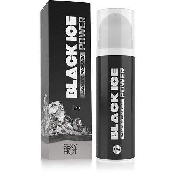 Produtos Eroticos Sexshop Garganta Profunda - Eletrizante - Black Ice  - Fribasex - Fabricasex.com