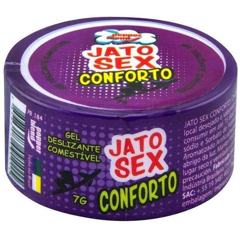Produtos Eroticos Sexshop Jato Sex Conforto Gel Anestesico  7g Pepper Blend  - Fribasex - Fabricasex.com
