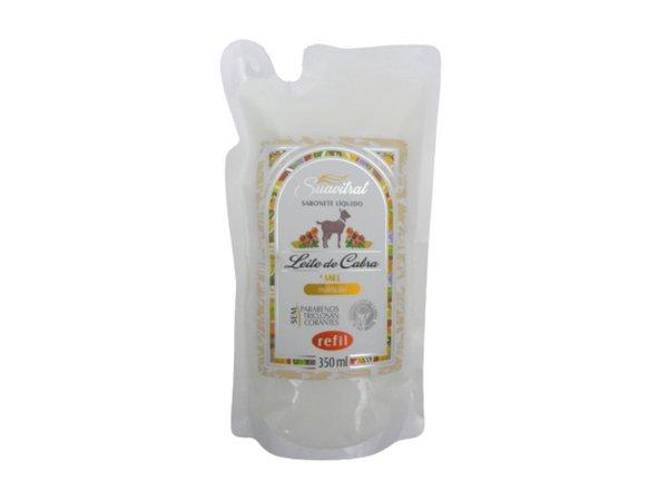 REFIL- Sabonete Líquido de Leite de Cabra 350ml  - Fribasex - Fabricasex.com