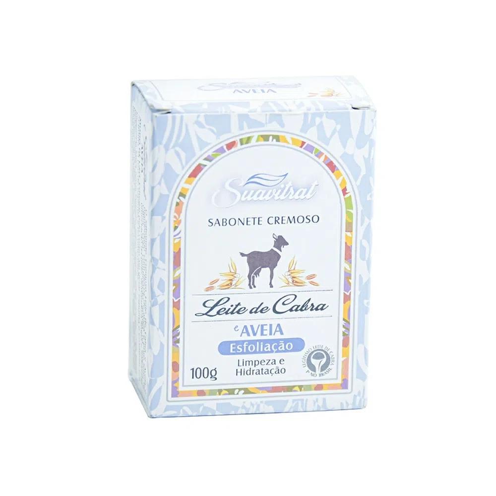 Sabonete cremoso Leite de cabra e aveia Original 100g  - Fribasex - Fabricasex.com