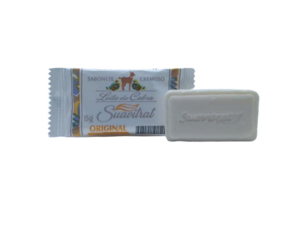 Sabonete flow pack de Leite de cabra Original 15g  - Fribasex - Fabricasex.com
