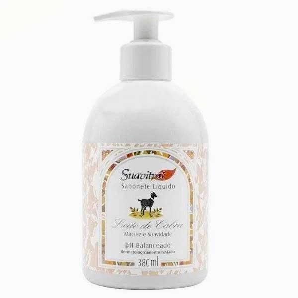 Sabonete Líquido Leite de Cabra e Mel 380ml  - Fribasex - Fabricasex.com