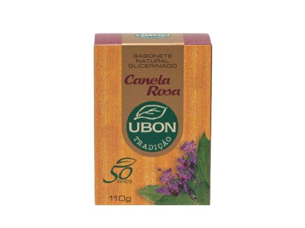 Sabonete natural glicerinado Canela Rosa 110g  - Fribasex - Fabricasex.com